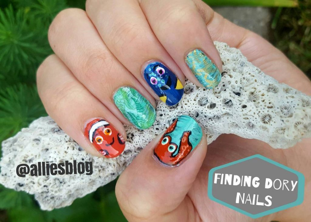 Manicure Monday disney nail art collab! Check out link tohellip