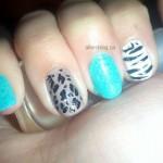 #31DC2013 Blue nails