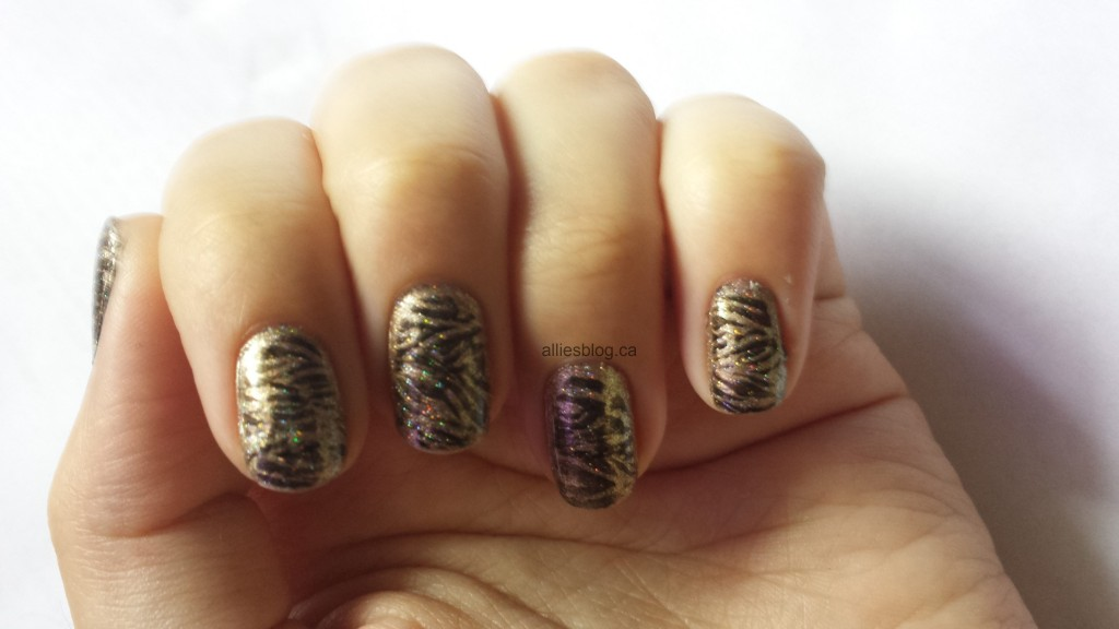 #31DC2013 Metallic Nails