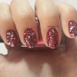 #31DC2013 red nails