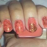 #31DC2013 Orange nails