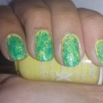 #31DC2013 Yellow nails