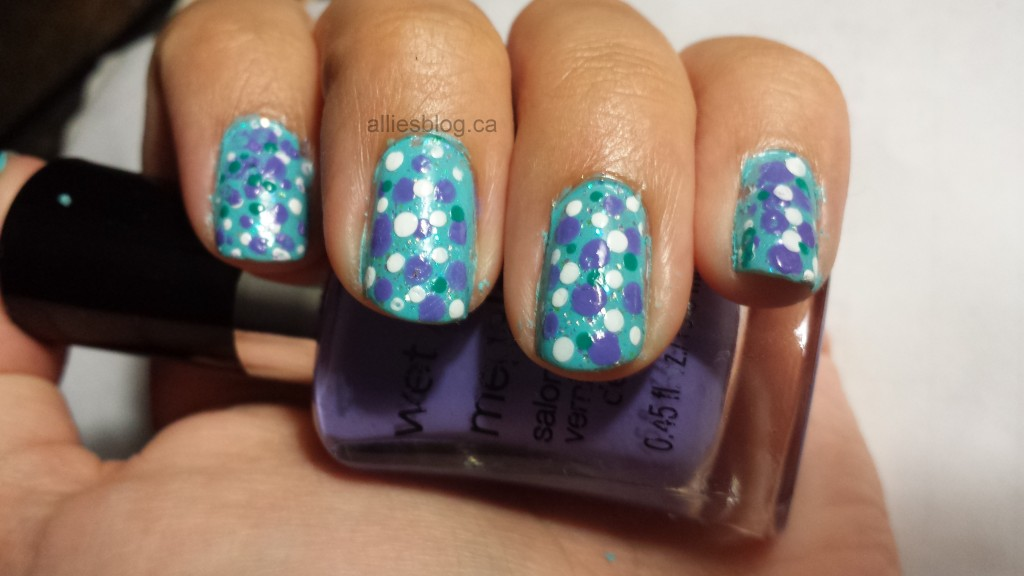 #31DC2013 Polka Dot nails 2