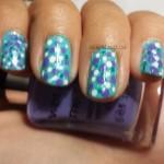 #31DC2013 Polka dot nails
