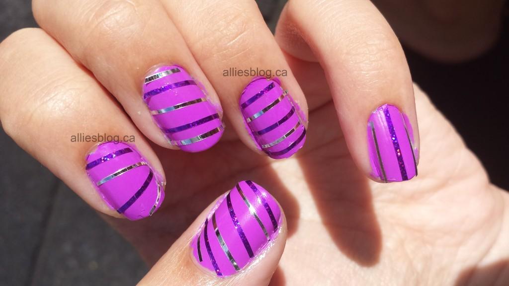 #31DC2013 Stripe Nails