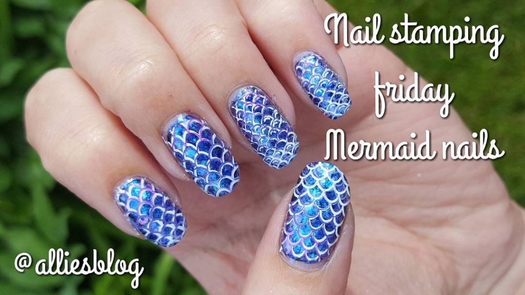 Nail stamping friday now up on my YouTube channel! linkhellip
