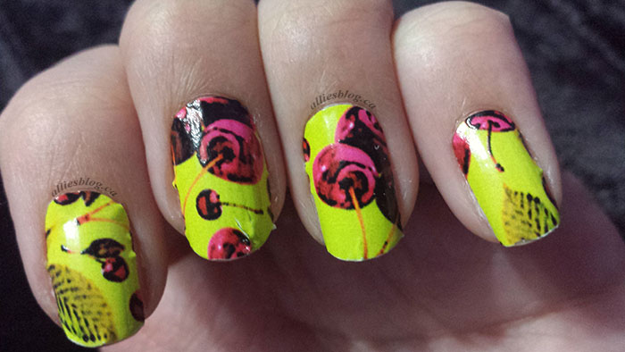 ncla nail wraps mod cherry - march 19 2014