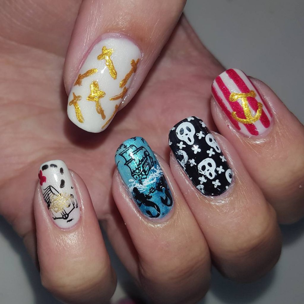 Solo Shot of todays mani swap nails for the youtubershellip