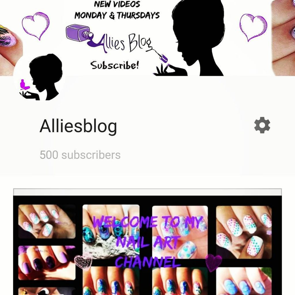 Yay made it to 500 subscribers!! thanks for everyone followinghellip