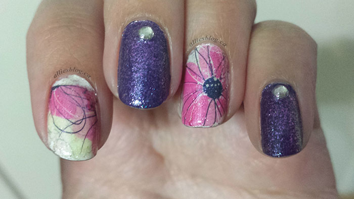 bornprettystore|nailstamps|june 9 2014|nailart