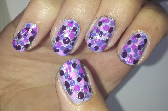 purplerainbowfishnails|color club|wet n wild| sinful colors|nailart tutorials|May 10 2014