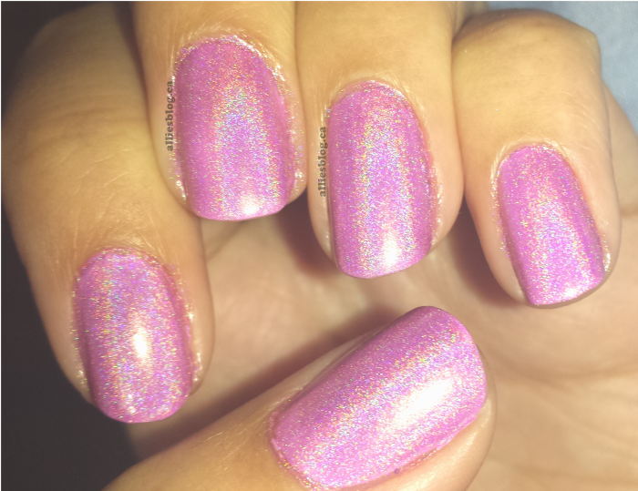 chloe & bella|holographic nails|july 28 2014