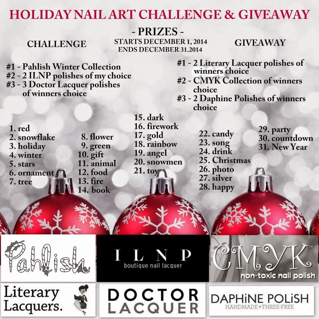 #tbnp_holidaychallenge |holiday nail art challenge| 31 day challenge |thebeautyofnailpolish