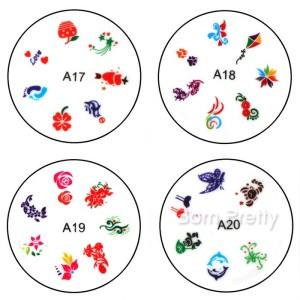Nail Art Stamp Silicone Printing Template |bornprettystore