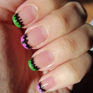 French tip nails for day 22 of the Halloween nail art challenge #bootifulnails #nails #nailartblogger #nailart #manicure #blogger #nailpolish #notd #nailartchallenge #nailsofinstagram #nailstagram #nails4yummies #newstuff #nails #love #naildesigns #nailartsupplies #nailartproducts #handpainted #nailartcommunity #nailartclub #pureicenailpolish #pureice #wetnwild #frenchtip #halloweennails #halloween #nailswag