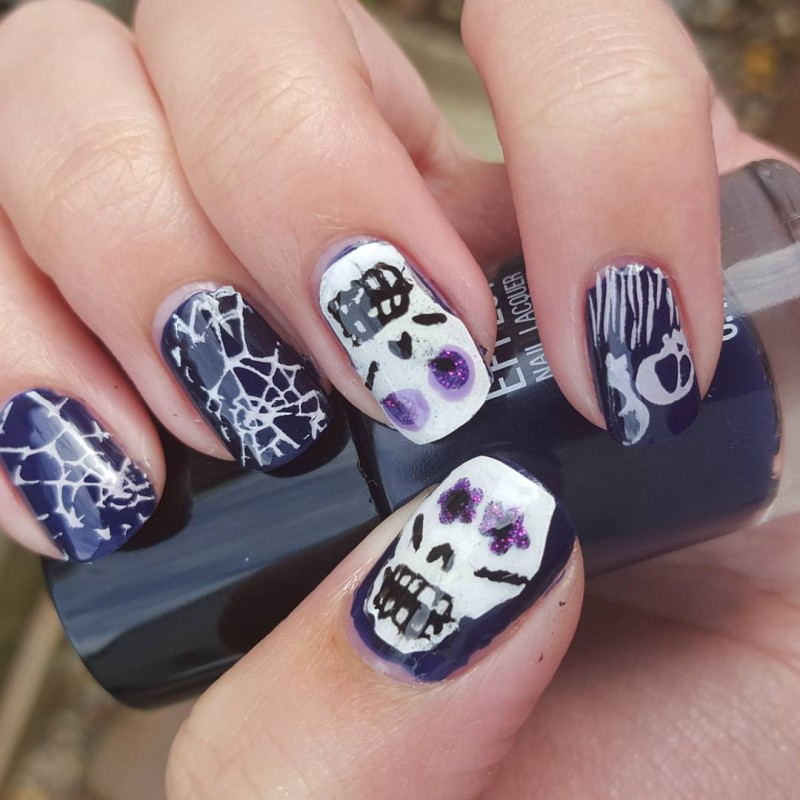 Halloween Nail Art Challenge Bootifulnails Catch Up 2 Plus Some