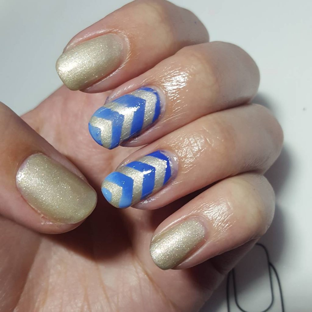 Todays nail art for beginners on how to do gradienthellip