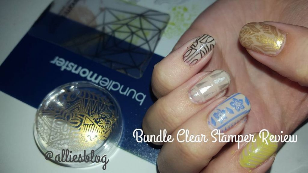 Review on bundlemonster clear monocole stamping on my YouTube channelhellip