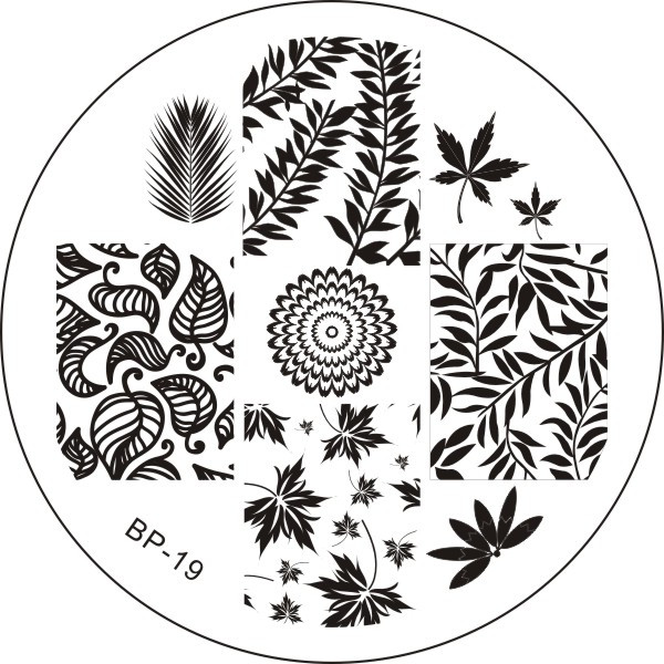 Bornpretty stamping plate bp 19 | stamping plate | alliesblog
