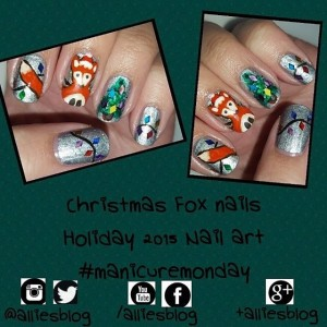 Please vote for me in @nailpolishcanadacom holiday nail art challenge link in bio! #nails #nailartblogger #nailart #manicure #blogger #nailpolish #notd #nailartchallenge #nailsofinstagram #nailstagram #nailsoftheday #nailartdesign #nailswag #nailartcommunity #nailartclub @bornprettystore @sally_hansen @chloeandbellacs #nailpolish #indiepolish #glitterpolish #nailartproducts #manicuremonday