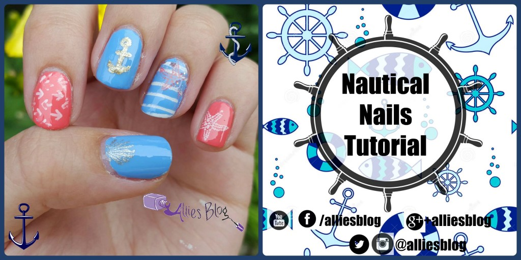 Nautical Nail Art Tutorial Using Bornprettystore Stamping Plates