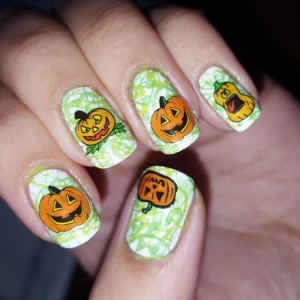 Jack o lanterns for day 21 of the Halloween nail art challenge #bootifulnails using @bornprettystore #stampingplates and nail stickers #nailsswag #nailsoftheday #nailart #manicure #blogger #nailpolish #notd #nailartchallenge #nailsofinstagram #nailstagram #nails4yummies #newstuff #nails #love #naildesigns #nailartsupplies #nailartproducts #nailartstamping #stampingnails #pretty #nailartblogger #nailartclub #nailartcommunity #halloweennails #fun #challenge #nailpolish #pureicenailpolish #pureice