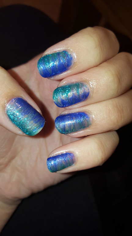 inspired by a color| revlon | sally hansen | color show | 31 day challenge | #31DC2015