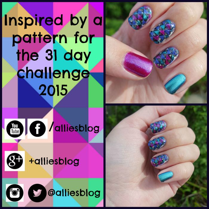 31 day challenge | inspired by a patten | essence nail polish | #31DC2015