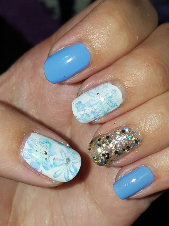 flower nails | 31 day challenge | #31dc2015 | rimmel london