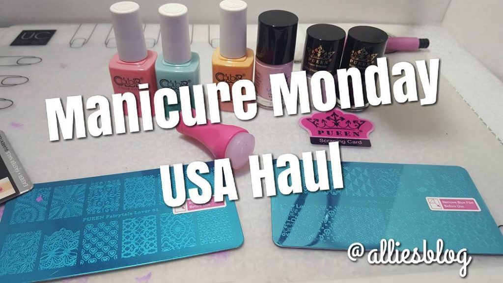 Todays manicure Monday! See what got in my USA Haul!hellip