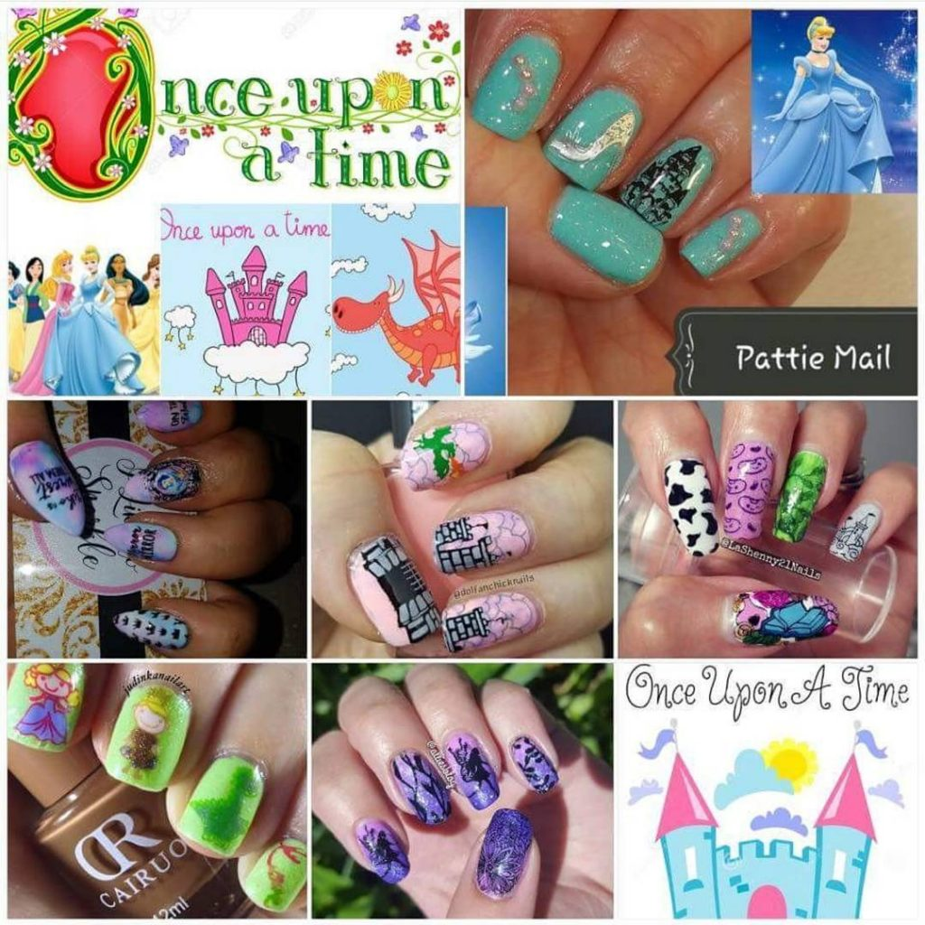 Todays fairy tale YouTubers nail stamping collab! Thanks Judy judinkanailarthellip