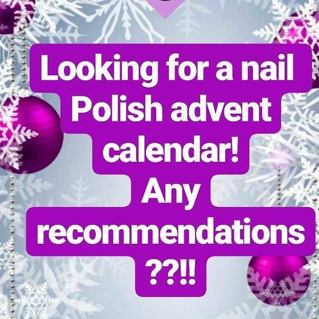 I want to try a nail polish advent calendar thishellip